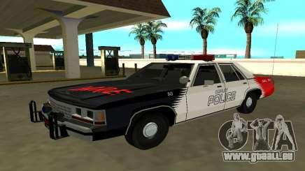 Ford LTD Crown Victoria 1991 Copley Police DARE pour GTA San Andreas