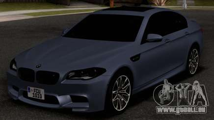 BMW M5 F10 30TH Anniversary Edition pour GTA San Andreas