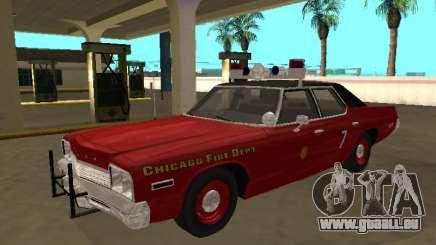 Dodge Monaco 1974 Chicago Fire Département pour GTA San Andreas