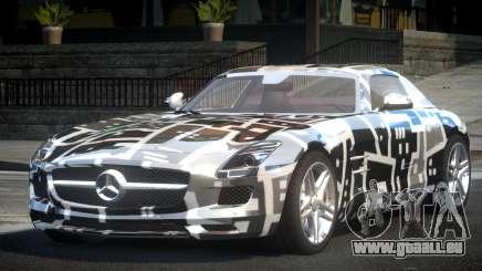 Mercedes-Benz SLS BS A-Style PJ2 pour GTA 4