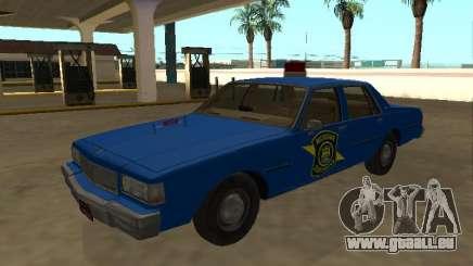 Chevrolet Caprice 1987 Police de l'État du Michigan pour GTA San Andreas