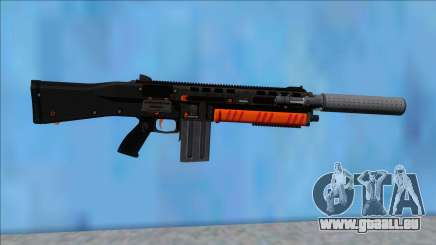 GTA V Vom Feuer Assault Shotgun Orange V2 pour GTA San Andreas