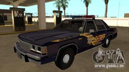 Ford LTD Crown Victoria 1991 Comté de Maricopa pour GTA San Andreas