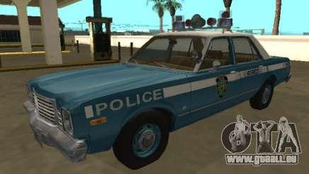 Dodge Aspen 1979 Département de police de New York pour GTA San Andreas