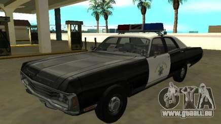 Dodge Polara 1972 California Highway Patrol pour GTA San Andreas