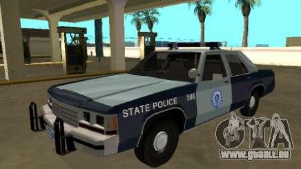 Ford LTD Couronne Victoria 1991 Massachusetts pour GTA San Andreas