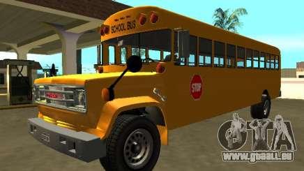 Autobus scolaire GMC C-70 1970 pour GTA San Andreas