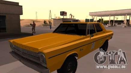 Plymouth Belvedere 4 portes 1965 Taxi pour GTA San Andreas