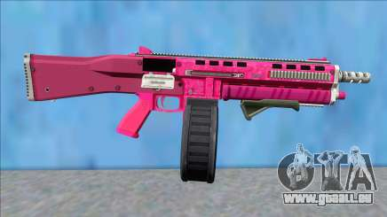 GTA V Vom Feuer Assault Shotgun Pink V9 pour GTA San Andreas