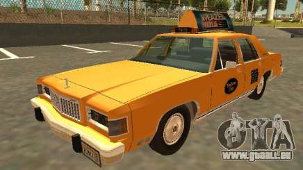 Mercury Grand Marquis 1986 Taxi für GTA San Andreas