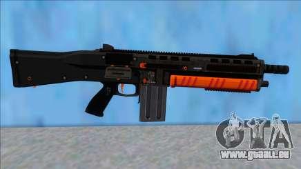 GTA V Vom Feuer Assault Shotgun Orange V15 pour GTA San Andreas