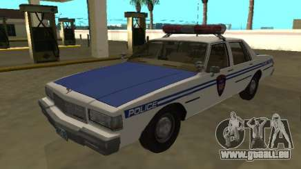Chevrolet Caprice 1987 NYPD Transit Police pour GTA San Andreas