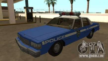 Chevrolet Caprice 1987 Département de police de New York pour GTA San Andreas