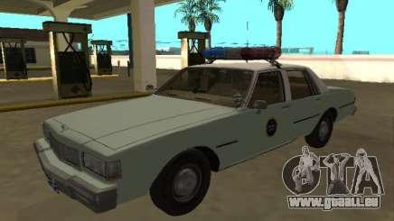 Chevrolet Caprice 1987 Patrouille frontalière américaine pour GTA San Andreas