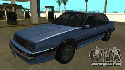 Chevrolet Celebrity 1984 pour GTA San Andreas