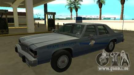 Ford LTD Couronne Victoria 1987 Kentucky State Poly pour GTA San Andreas