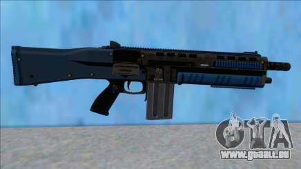 GTA V Vom Feuer Assault Shotgun LSPD V15 pour GTA San Andreas