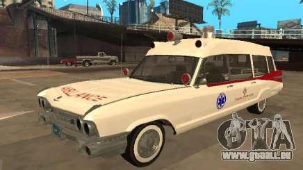 1959 Cadillac Miller-Meteor Ambulance für GTA San Andreas