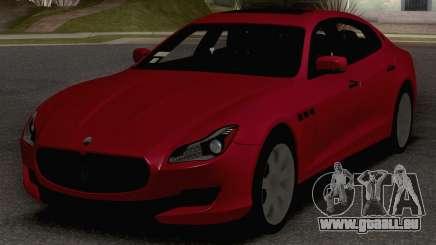 2015 Maserati Quattroporte GTS pour GTA San Andreas