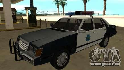 Ford LTD LX 1985 Département de police de San Francisco pour GTA San Andreas