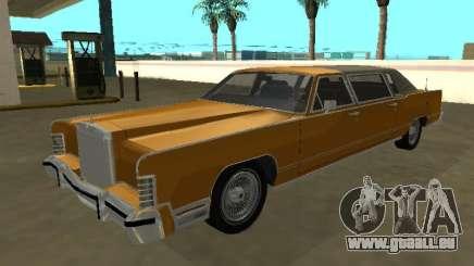 Lincoln Continental Town Car 1979 Limo für GTA San Andreas