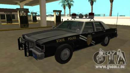 Ford LTD Crown Victoria 1987 Nouveau-Mexique SP pour GTA San Andreas