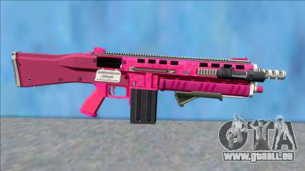 GTA V Vom Feuer Assault Shotgun Pink V6 pour GTA San Andreas