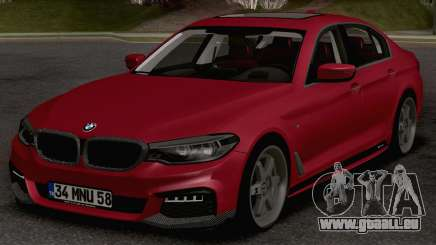 BMW 540i MPerformance pour GTA San Andreas