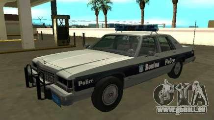 Ford LTD Crown Victoria 1987 Boston Police pour GTA San Andreas