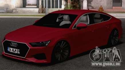Audi A7 2020 TR Plates pour GTA San Andreas