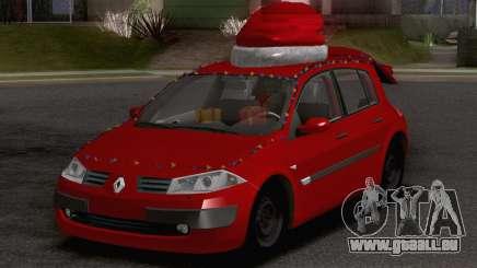 Renault Megane Christmas Edition pour GTA San Andreas
