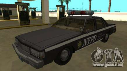 Chevrolet Caprice 1987 NYPD Auxiliaire pour GTA San Andreas