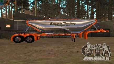 Zementmischer Edwards Trucking für GTA San Andreas