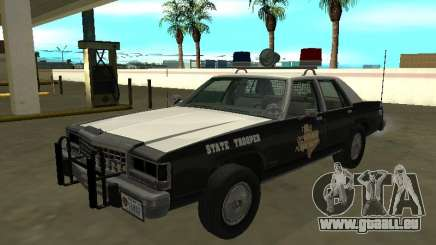 Ford LTD Couronne Victoria 1987 Texas State Trooper pour GTA San Andreas