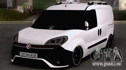 Fiat Doblo 2019 PanelVan pour GTA San Andreas
