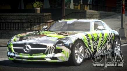 Mercedes-Benz SLS BS A-Style PJ5 pour GTA 4