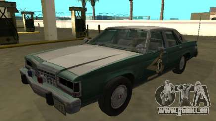 Ford LTD Couronne Victoria 1987 New Hampshire SP pour GTA San Andreas