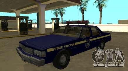 Chevrolet Caprice 1987 New York State Trooper pour GTA San Andreas