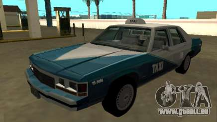 Ford LTD Crown Victoria 1991 Cab.Co Californie pour GTA San Andreas