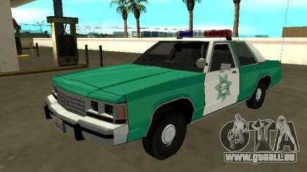 Ford LTD Crown Victoria 1991 Comté de San Diego SF pour GTA San Andreas