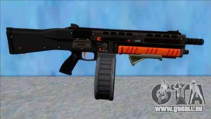 GTA V Vom Feuer Assault Shotgun Orange V9 pour GTA San Andreas