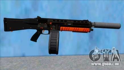GTA V Vom Feuer Assault Shotgun Orange V7 pour GTA San Andreas