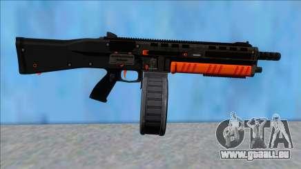 GTA V Vom Feuer Assault Shotgun Orange V14 pour GTA San Andreas