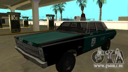Plymouth Belvedere 4 portes 1965 Old NYPD pour GTA San Andreas