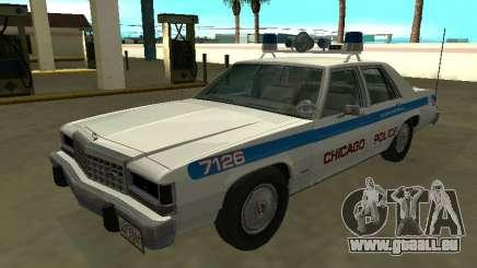 Ford LTD Crown Victoria 1987 Département de police de Chicago pour GTA San Andreas
