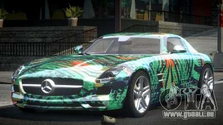 Mercedes-Benz SLS BS A-Style PJ1 pour GTA 4