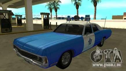Dodge Polara 1972 Département de police de Chicago pour GTA San Andreas