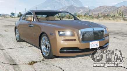Rolls-Royce Wraith 2013 pour GTA 5