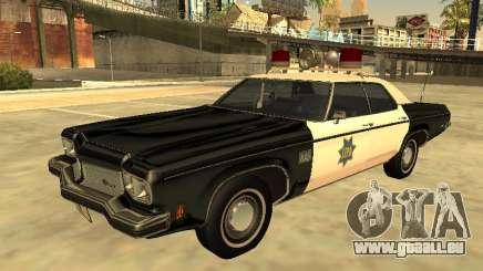 Oldsmobile Delta 88 1973 Département de police de San Francis pour GTA San Andreas