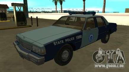 Chevrolet Caprice 1987 Massachusetts S Police pour GTA San Andreas